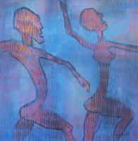 Friedhard-Meyer-People-Couples-Movement-Contemporary-Art-Contemporary-Art