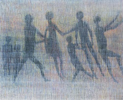 Friedhard Meyer, Ränkespiel, People: Group, Fantasy, Contemporary Art