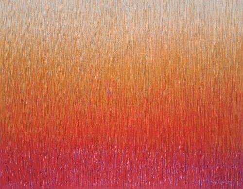Friedhard Meyer, Zinnober 2, Abstract art, Fantasy, Contemporary Art