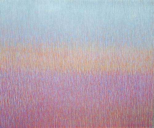 Friedhard Meyer, Ganz Leise, Abstract art, Fantasy, Contemporary Art