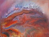 Friedhard-Meyer-Landscapes-Hills-Fantasy-Contemporary-Art-Contemporary-Art