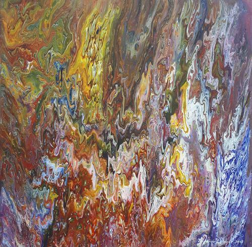 Friedhard Meyer, Eden 3, Plants, Fantasy, Contemporary Art