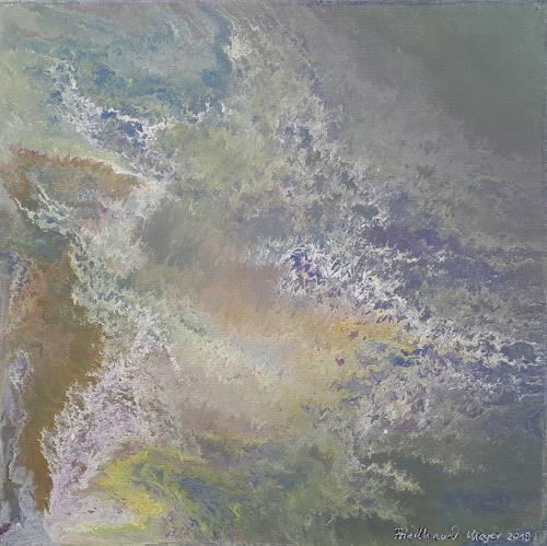 Friedhard Meyer, Verspielt, Abstract art, Fantasy, Contemporary Art