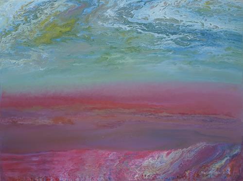 Friedhard Meyer, Black Sea, Landscapes: Sea/Ocean, Fantasy, Contemporary Art, Expressionism