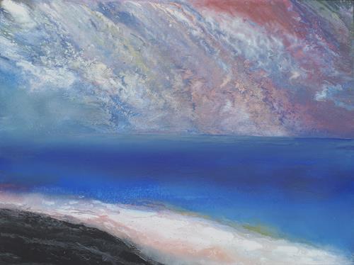 Friedhard Meyer, Hiddensee-Unterwegs, Landscapes: Sea/Ocean, Miscellaneous Landscapes, Contemporary Art
