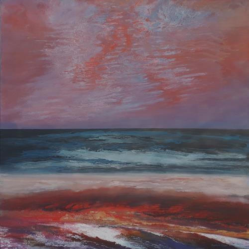 Friedhard Meyer, Meer, Landscapes: Sea/Ocean, Miscellaneous Landscapes, Contemporary Art