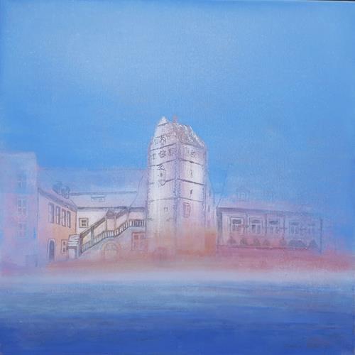 Friedhard Meyer, Hohntor mit Bildhäuser Hof, Architecture, Miscellaneous Buildings, Contemporary Art