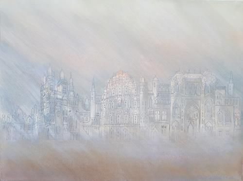 Friedhard Meyer, Palast der Winde, Architecture, Miscellaneous Buildings, Contemporary Art