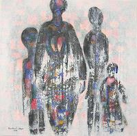 Friedhard-Meyer-People-Group-People-Families-Contemporary-Art-Contemporary-Art