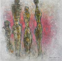 Friedhard-Meyer-People-Group-Miscellaneous-People-Contemporary-Art-Contemporary-Art