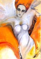 Rosa-Meister-Erotic-motifs-Female-nudes-People-Women-Contemporary-Art-Contemporary-Art
