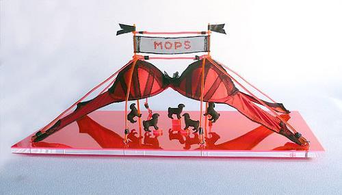 Meike Kohls, Mops Zirkus, Burlesque, Miscellaneous Erotic motifs, Pop-Art
