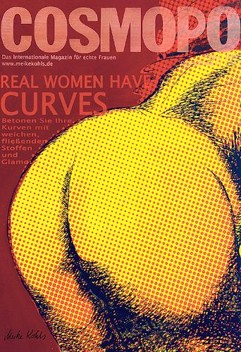 Meike Kohls, Cosmopo, Erotic motifs: Female nudes, Humor, Contemporary Art