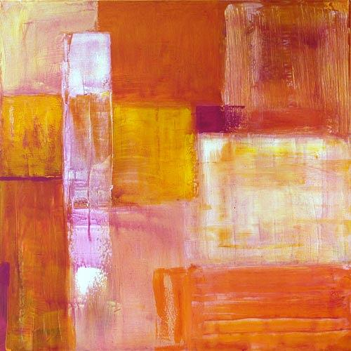 Claudia Färber, Fatamorgana, Abstract art, Miscellaneous, Colour Field Painting