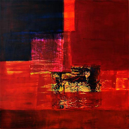 Claudia Färber, Angedacht, Abstract art, Colour Field Painting