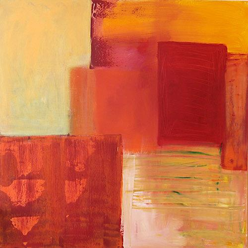 Claudia Färber, Sommer, Abstract art, Emotions: Joy, Colour Field Painting