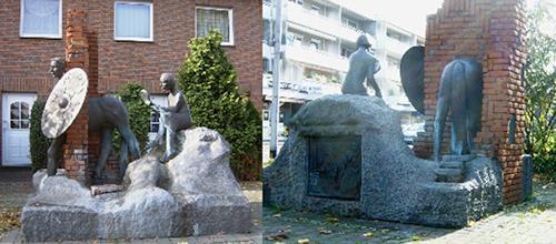 Gautam, Römerbrunnen, History, Society, Realism