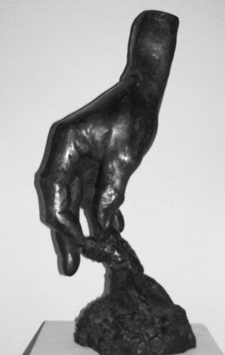 Gautam, Schöpfende Hand, Symbol, Architecture, Contemporary Art