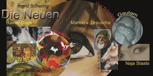 Gautam, Einladugskarte für die Gemeinschaftsausstellung in BB, Miscellaneous, Miscellaneous, Contemporary Art