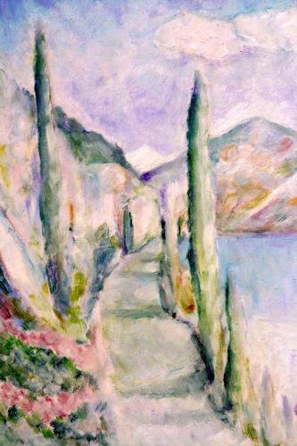 Christophorus Hardenbicker, Gardasee 2000, Landscapes: Sea/Ocean, Impressionism