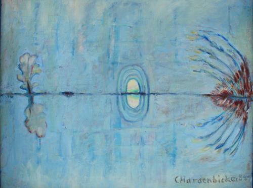 Christophorus Hardenbicker, Höhle 1984, Landscapes: Summer, Impressionism