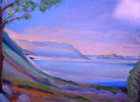 Christophorus-Hardenbicker-Landscapes-Sea-Ocean-Modern-Age-Impressionism-Neo-Impressionism