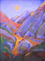 Christophorus-Hardenbicker-Landscapes-Mountains-Modern-Age-Impressionism