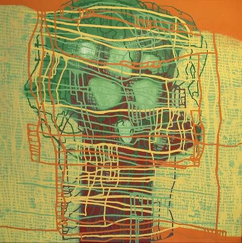 Manuela Rauber, Beziehungsnetz, Abstract art, People: Group, Abstract Art, Abstract Expressionism