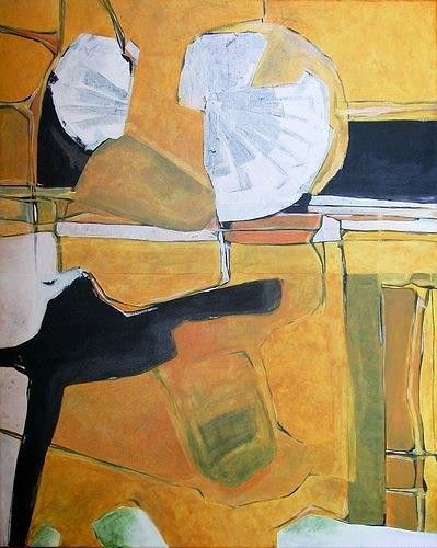 Manuela Rauber, Gartenbild, Abstract art, Nature: Miscellaneous, Abstract Art