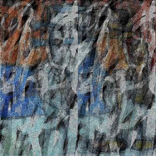 Manuela Rauber, ManuScript 6, Miscellaneous, Abstract art, Contemporary Art
