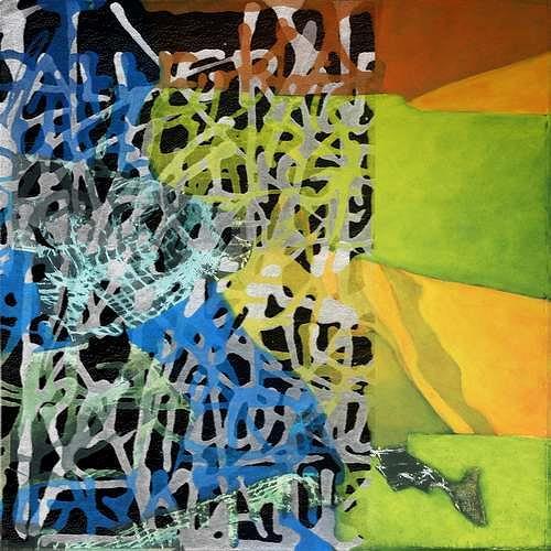 Manuela Rauber, ManuScript 4, Abstract art, Miscellaneous, Contemporary Art