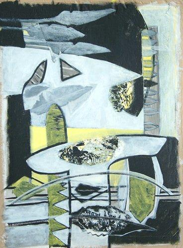 Manuela Rauber, Formen männlich 2, Abstract art, Symbol, Contemporary Art