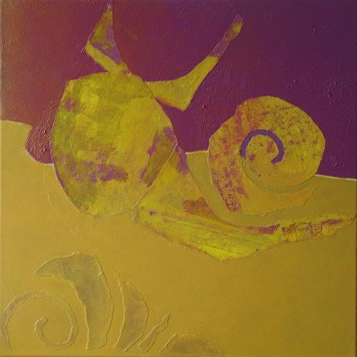 Manuela Rauber, Gegengelb 4, Animals: Land, Symbol, Contemporary Art
