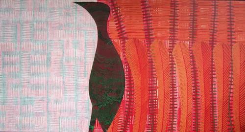 Manuela Rauber, Traumzeit 3, Abstract art, Nature: Earth, Contemporary Art