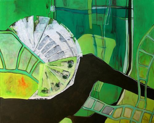 Manuela Rauber, Garten 3, Abstract art, Nature: Miscellaneous, Contemporary Art, Expressionism