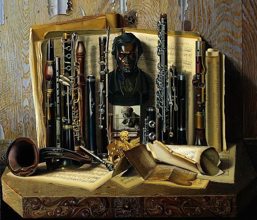 Michael Lassel, Capriccio, Music: Instruments, Miscellaneous Music, Realism, Expressionism