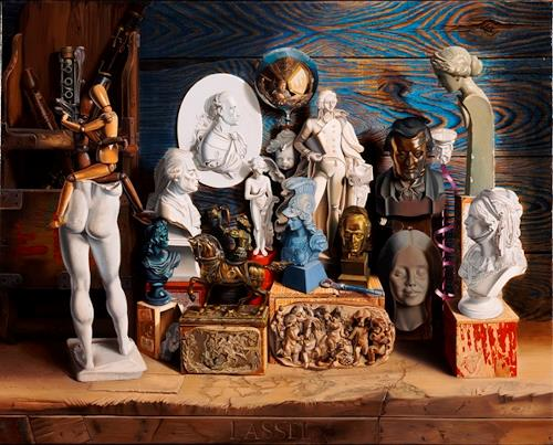 Michael Lassel, Intermundi, Mythology, Still life, Realism, Expressionism