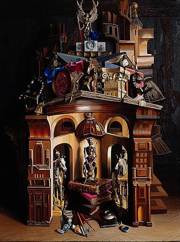 Michael Lassel, Horse Guard, Miscellaneous Buildings, History, Realism, Abstract Expressionism