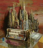 Michael-Lassel-Architecture-Music-Instruments-Modern-Times-Realism