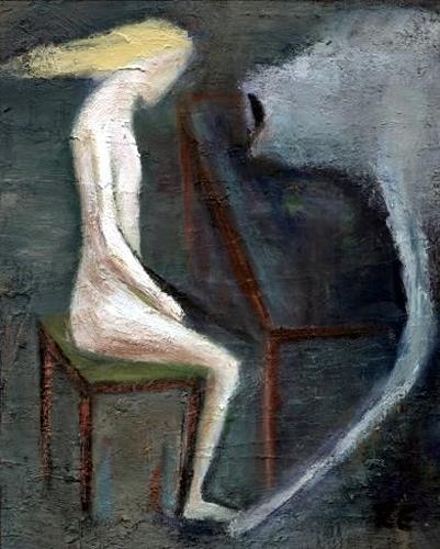 Regina Grahl, das viech ist tot, People: Women, Abstract Expressionism