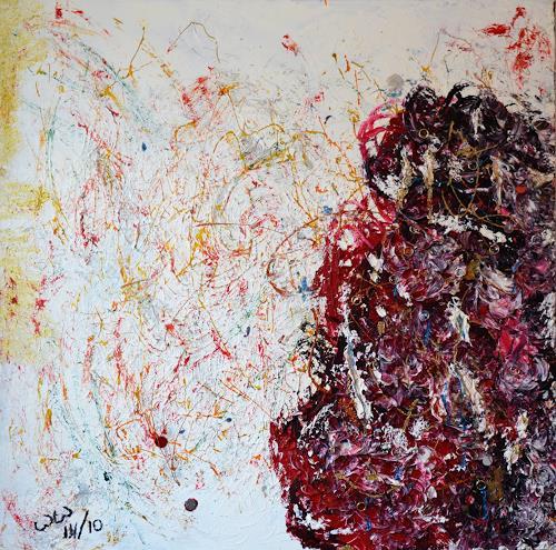waldraut hool-wolf, Geboren im Geiste, Abstract art, Abstract art, Abstract Art
