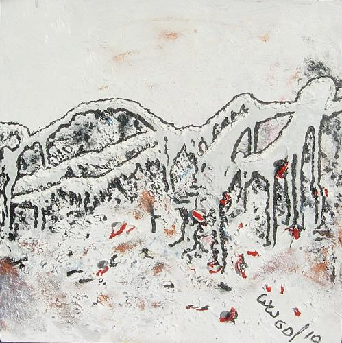 waldraut hool-wolf, on the bridge*6D*, Abstract art, History, Impressionism