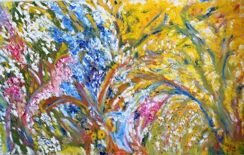 waldraut hool-wolf, sanft, Landscapes: Spring, Landscapes: Summer, Impressionism