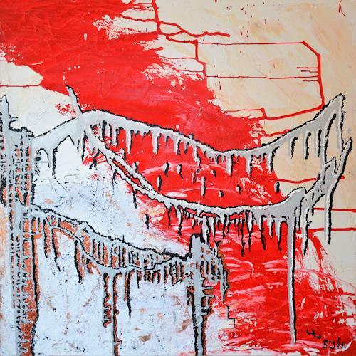 waldraut hool-wolf, das haus of the bridge*5J*, Abstract art, Architecture, Abstract Art