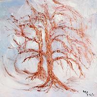 waldraut-hool-wolf-Landscapes-Winter-Nature-Wood-Contemporary-Art-Land-Art