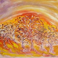 waldraut-hool-wolf-Landscapes-Spring-Nature-Wood-Contemporary-Art-Land-Art