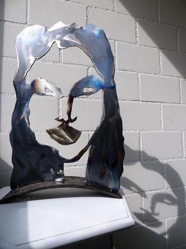 waldraut hool-wolf, Die Maske *S26*, People: Faces, Abstract art, Neue Wilde