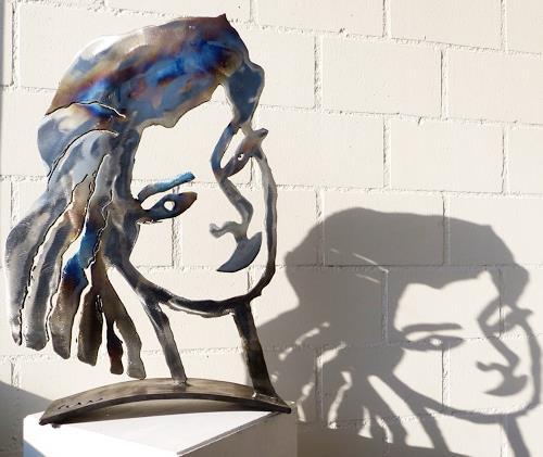 waldraut hool-wolf, Manuela, People: Women, People: Faces, Contemporary Art