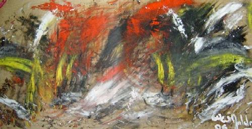 waldraut hool-wolf, farbenspiel (5), Abstract art, Abstract art, Neue Wilde