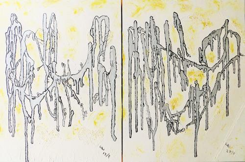 waldraut hool-wolf, attedant of the bridge + the way of the bridge, Miscellaneous People, Abstract art, Contemporary Art